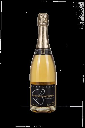Das Bild zeigt die Flasche Champagne AOC Brut Boulard-Bauquaire - Cuvée Carte Noire