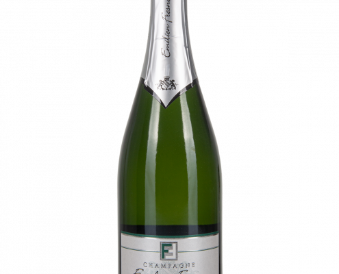 Das Bild zeigt die Flasche Champagne AOC Brut Emilien Fresne - Cuvée La Grande Réserve