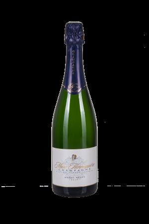 Das Bild zeigt die Flasche Champagne AOC Brut Marc Hennequière - Cuvée Marie-Nelly