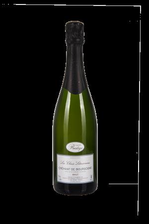 Das Bild zeigt die Flasche Crémant AOP Brut Bourgogne Blanc de Noirs- Les Chais Létourneau - Cuvée Prestige