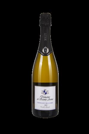 Das Bild zeigt die Flasche Crémant AOP Brut Loire - Domaine de Sainte Anne