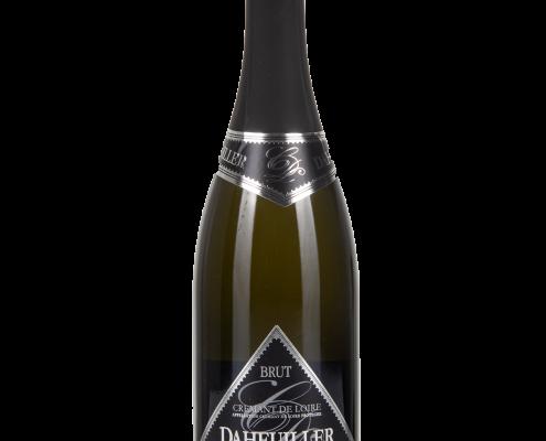 Das Bild zeigt die Flasche Crémant AOP Brut Loire Blanc - Daheuiller Domaine des Varinelles