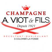 Das Bild zeigt das Logo von unserem Winzer A.VIOT&FILS Champagne