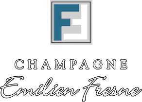 Das Bild zeigt das Logo von unserem Winzer Emilien Fresne Champagne