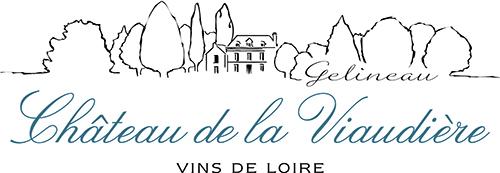 Das Bild zeigt das Logo von unserem Winzer- Domaine Gelineau Château de la Viaudière - Crémant de Loire AOP