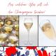 Das Bild zeigt den Titel unseres neuen Blogsbeitrag : aus welchem Glas soll ich den Champagner trinken?